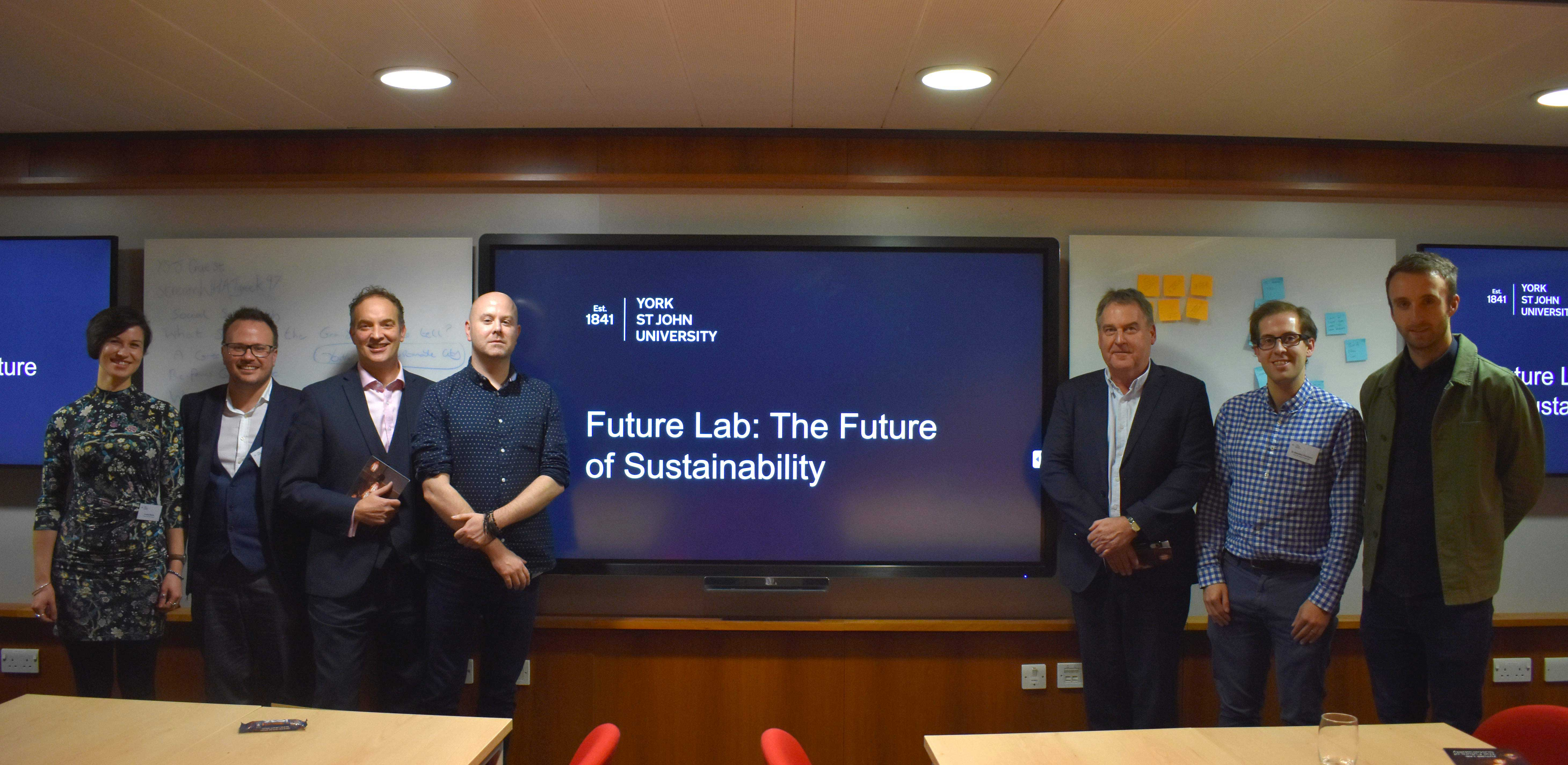 Guest Speakers at Future Lab Event