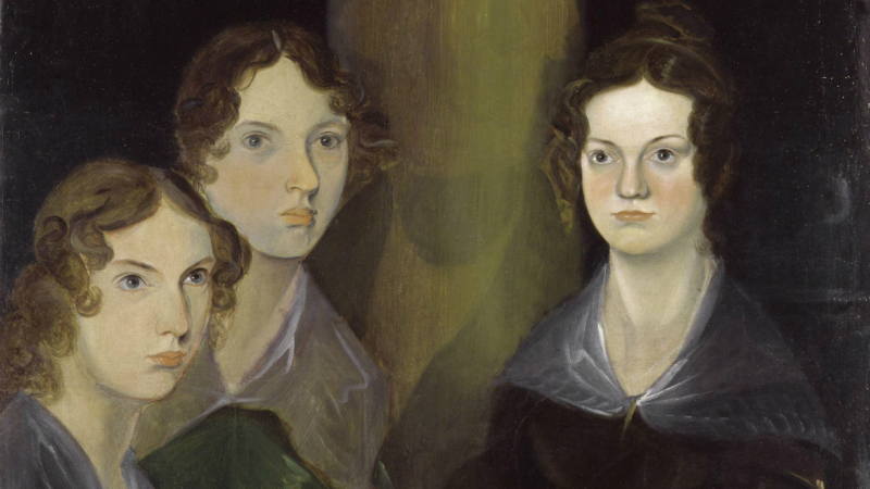 Anne, Emily and Charlotte Bronte painted by their brother Branwell