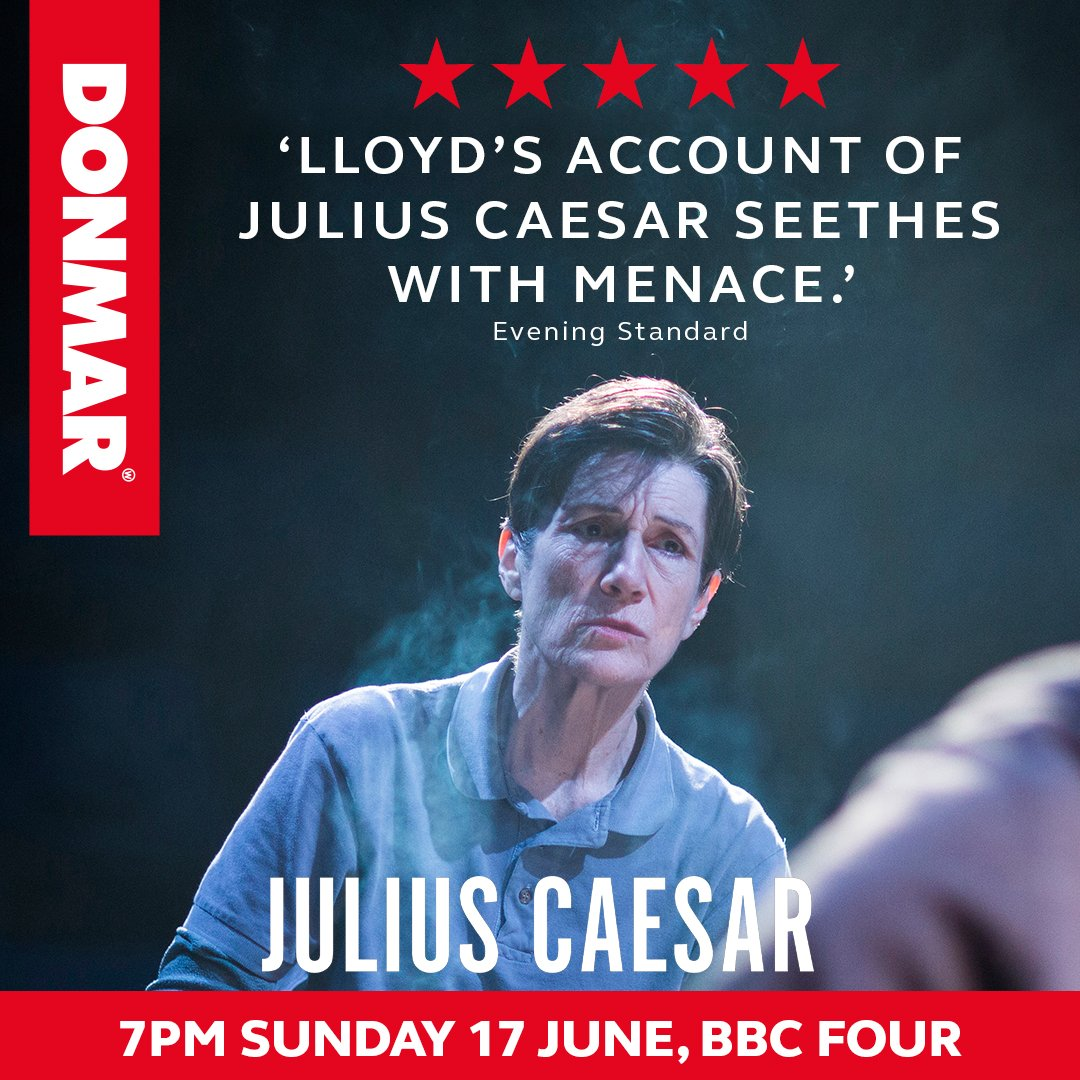 Advert for Julius Caesar broadcast on BBC4