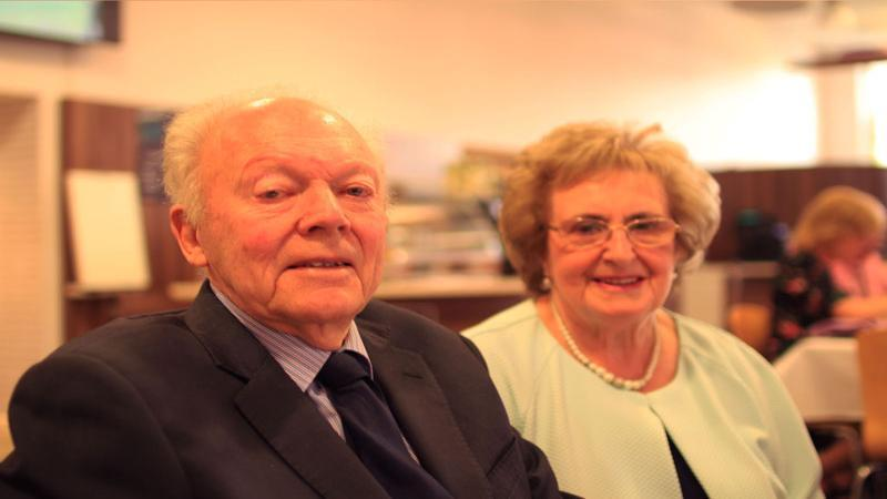 John and Evelyn Maw