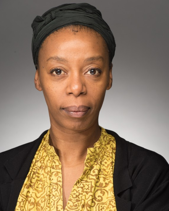Actress Noma Dumezweni head & shoulders