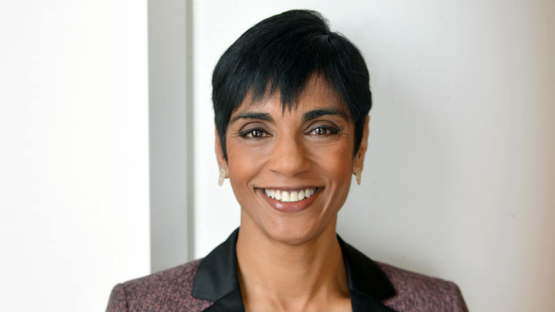 A headshot of Reeta Chakrabarti