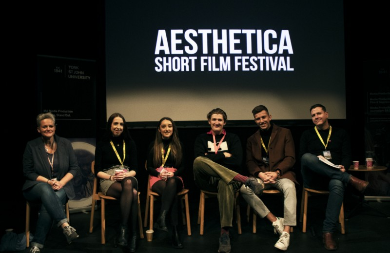 Filmmaker panel from the Aesthetica Short Film Festival showcase