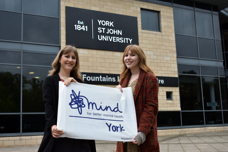 Laura Grove launches campaign with York Mind