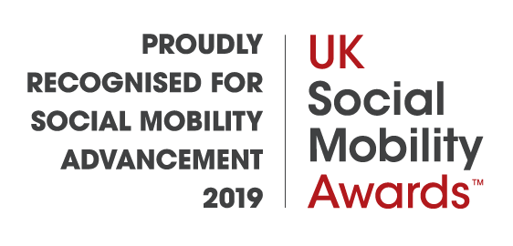 Logo representing the 2019 UK Social Mobility Awards