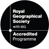 This course is accredited by the Royal Geographical Society